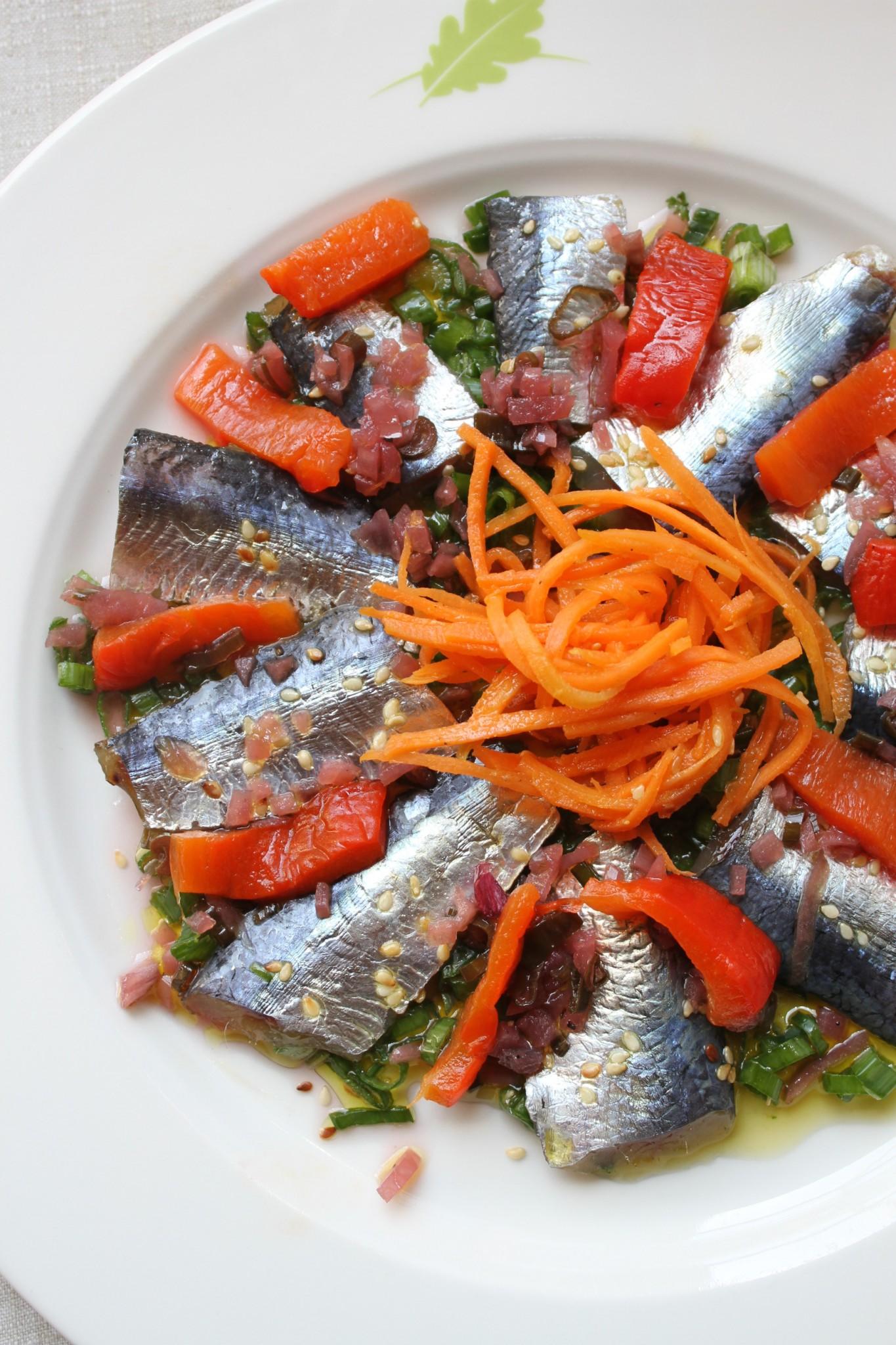 Sardines marin es pain de campagne et beurre d 39 algues par - Maison baron lefevre nantes ...