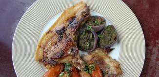 Côte de cochon restaurant l'Ardoise Angers