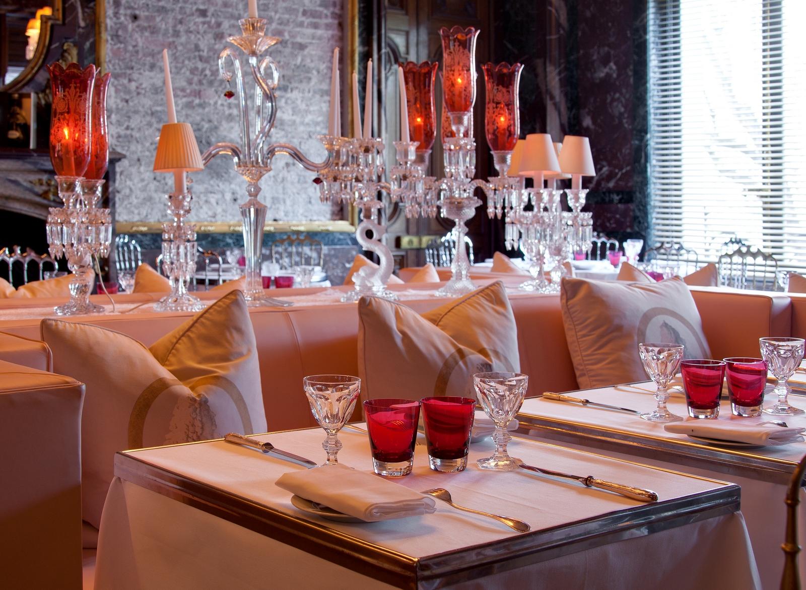 Philippe Delle, Cristal Room Baccarat dessert