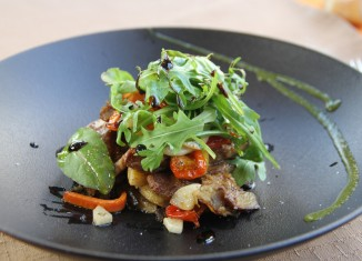 Emincé de tapilla de porc ibérique, Laurent Maignan, Le 15 Gourmand