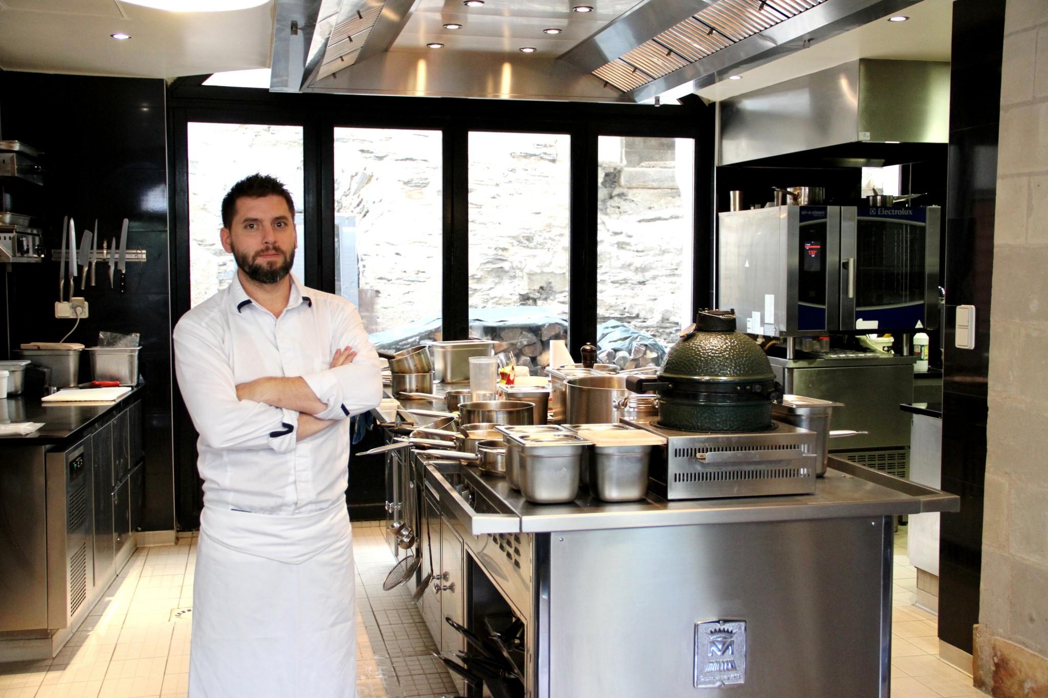 Atelier de cuisine le 2 juillet chez SAMO, à Angers, avec le chef Richard Cérini