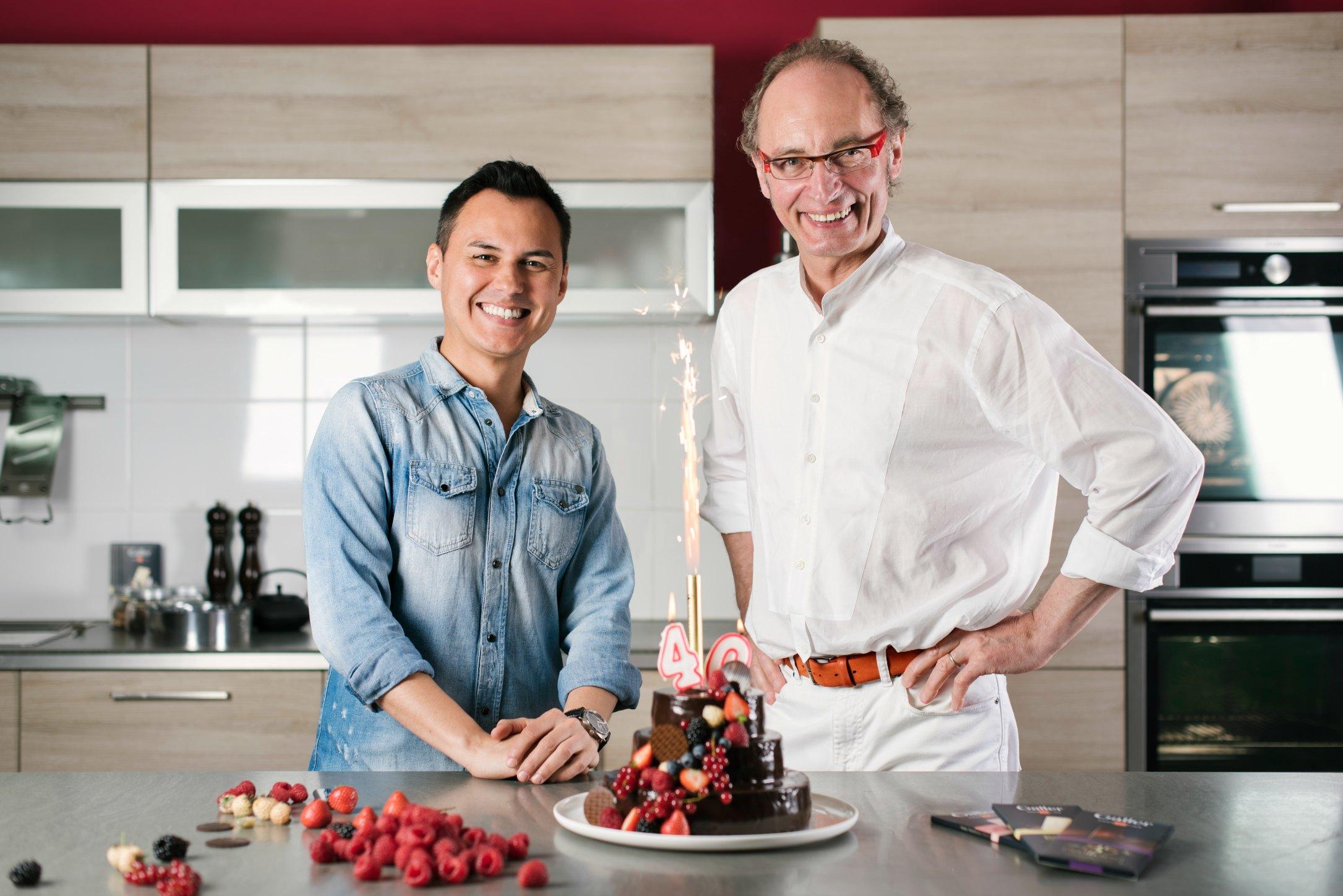 Jean galler et herv cuisine proposent une recette au chocolat gastronomica - Herve cuisine cake chocolat ...