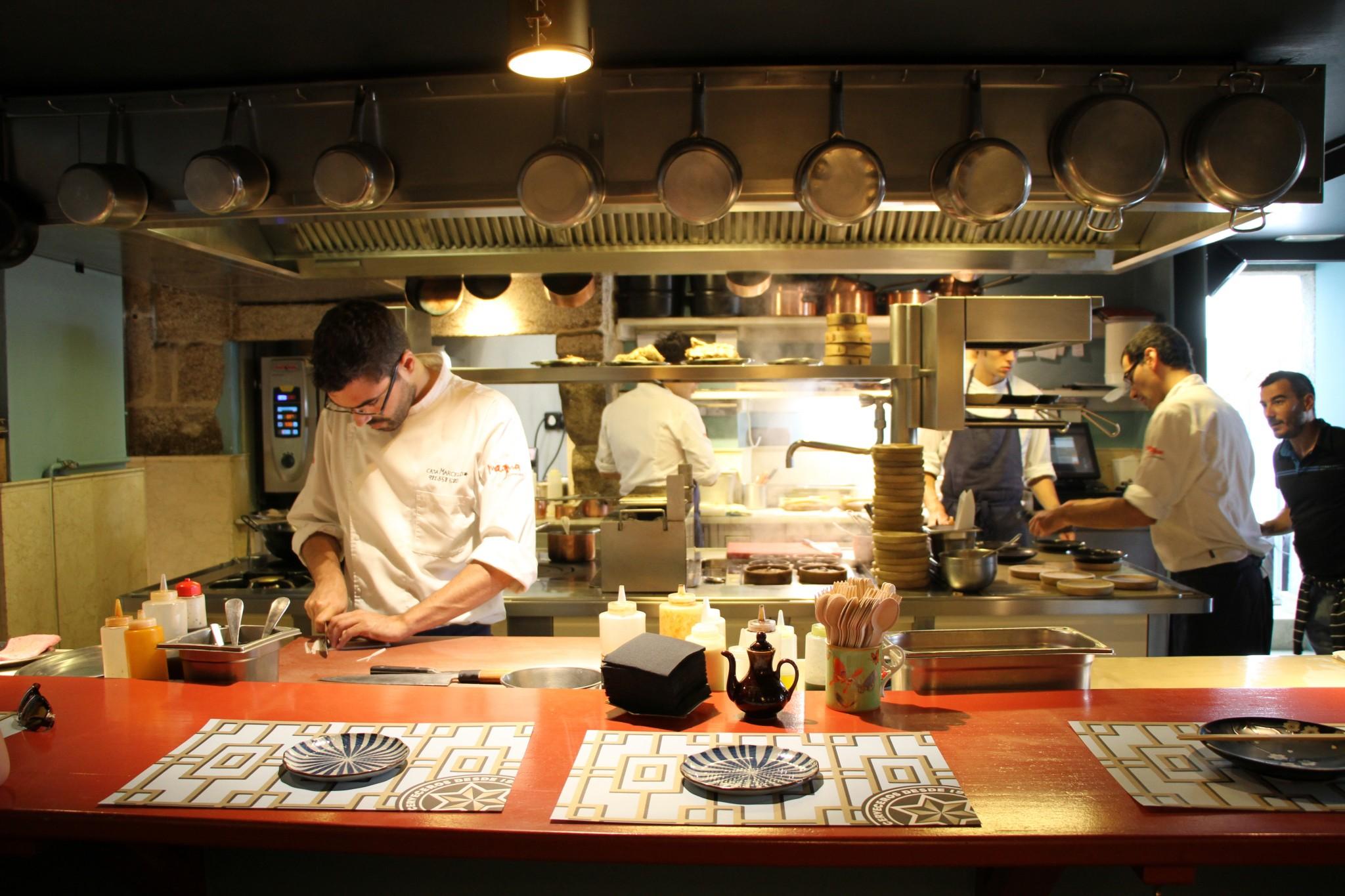 Restaurant Casa Marcelo, St-Jacques de Compostelle, Galice, Espagne