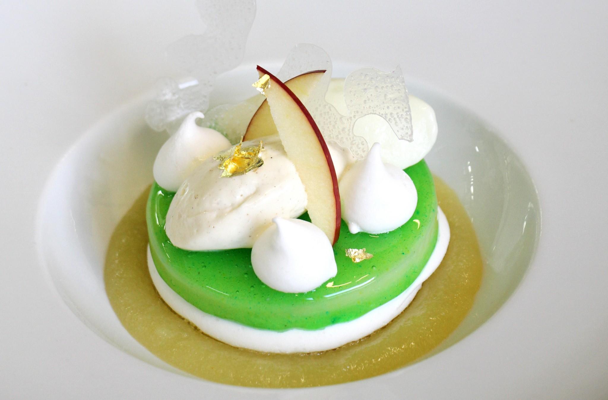 Recette du dessert à la pomme verte