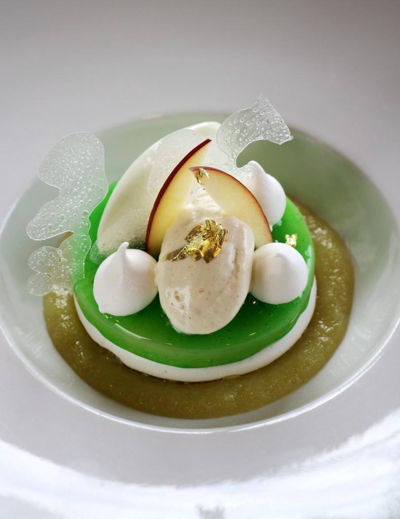 Recette du dessert à la pomme verteRecette du dessert à la pomme verte
