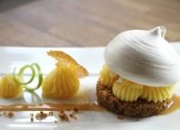 La recette du week-end, tarte au citron revisitée par le restaurant Mademoiselle B, Nantes