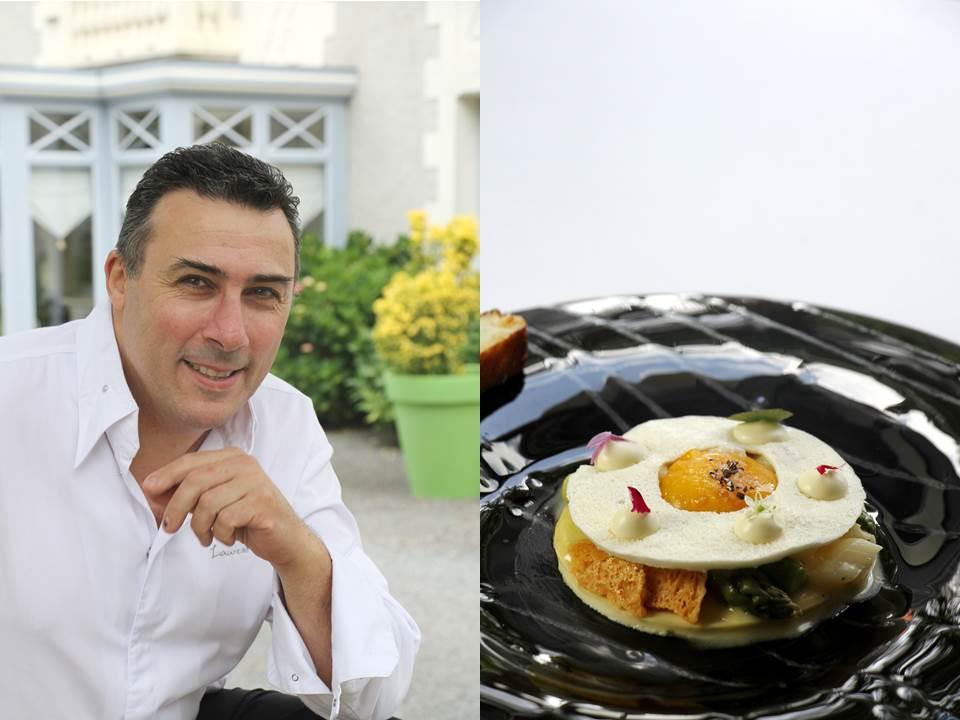 Laurent saudeau, chef, nantes, gastronomie, manoir de la boulaie