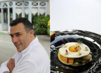 Laurent saudeau, chef, restaurant, nantes, gastronomie, manoir de la boulaie